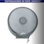 Dispensador MAXI de papel higiénico para baño transparente - PH52002