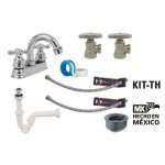 Kit para baño Rugo - KIT-TH