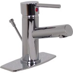 Mezcladora monomando con cubierta para lavabo  - 303-RL