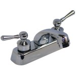 Mezcladora para lavabo, cuerpo de bronce, cartucho cerámico - 21062