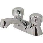 Mezcladora para lavabo cuerpo de latón con cartucho - 22-PC