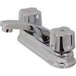 Mezcladora para lavabo de cierre a compresión con cubierta - 24-Q