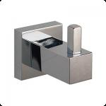 Gancho sencillo para baño, línea ÓNIX - O805
