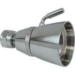 Regadera de latón de chorro regulable - 44-LC