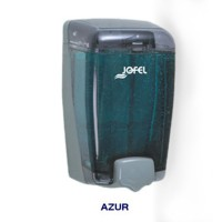 Dispensador de jabón rellenable color gris con capacidad de 1000 ml - DJ90002