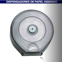Dispensador de papel higiénico para baño transparente - PH52310