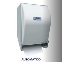 Dispensador AUTOMATICO de toalla en rollo de corte color blanco - PT71000