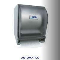 Dispensador AUTOMATICO de toalla en rollo de corte color transparente - PT71010
