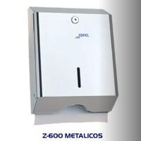 Dispensador de toalla Interdoblada metálico, color inox brillo  - AH14000