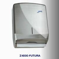 Dispensador de toalla Interdoblada metálico, color satinado - AH25000
