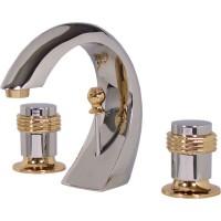 Mezcladora Venecia de lavabo con desagüe automático y cartucho cerámico - 19-VH