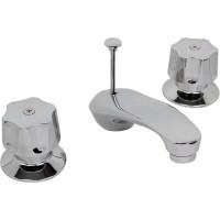 """Mezcladora para lavabo de 8"""" a 12"""" con cartucho con desagüe - 19-IB"""