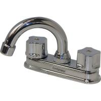 Mezcladora para lavabo, cuerpo de bronce, cartucho cerámico - 21051