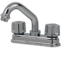 Mezcladora para lavabo de cierre a compresión con cubierta - 24-CT