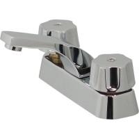 Mezcladora para lavabo de cierre a compresión con cubierta - 24-K