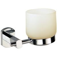 Portavaso cristal con base, línea RUBÍ - R806