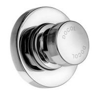 Valvula para agua fria o pre-mezclada, acabado cromo, de alta presion Pressmatic, regadera - 17120206